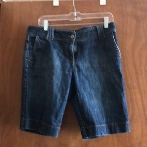 Loft Bermuda shorts 10 petite